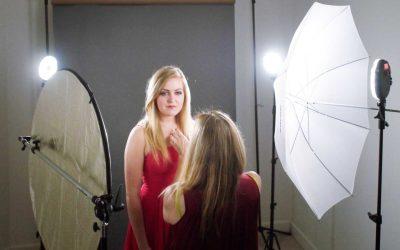 Portraits with Rotolights NEO 2 LED Lights