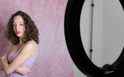Glamour Photography with a Ring Light